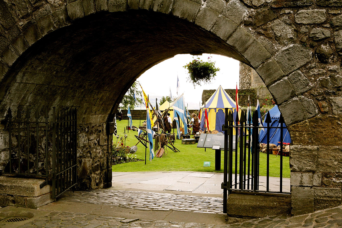 Historic clan encampment