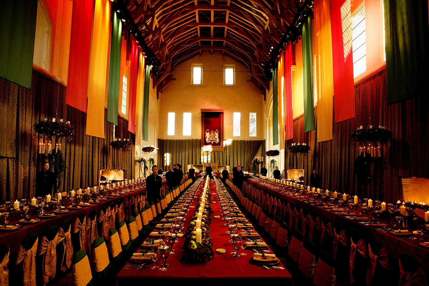 Scottish castle banquet