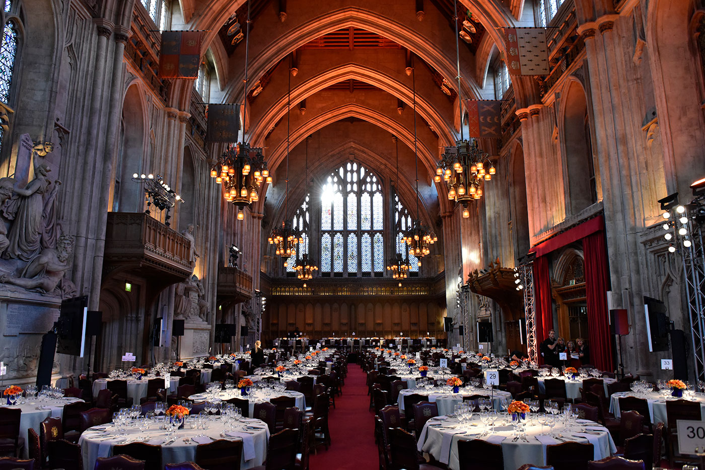 Formal city of London dinner